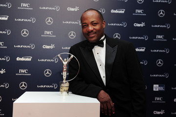 Brian Lara Arrivals - 2013 Laureus World Sports Awards