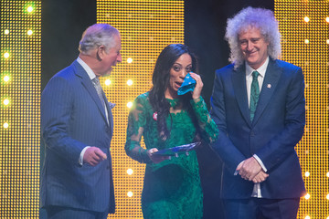 Brian May The Prince Of Wales Attends The Prince's Trust Awards