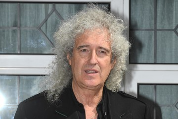 Brian May Unveiling Of English Heritage Plaque To Freddie Mercury