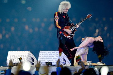 Brian May Jessie J Olympics - Best of the Closing Ceremony
