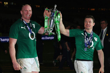 Brian O'Driscoll Paul O'Connell France v Ireland - RBS Six Nations