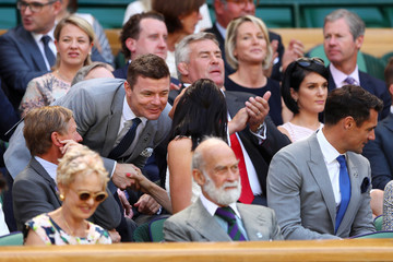 Brian O'Driscoll Day Five: The Championships - Wimbledon 2017