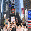 Brian Rappaport Models Do Eat Book Launch, Featured On 12 billboards At Times Square With Jill de Jong, Liana Werner-Gray, Nikki Sharp And Sarah Deanna