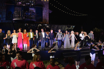 Brian Stokes Mitchell Billy Porter 'One Thrilling Combination' Curtain Call in NYC
