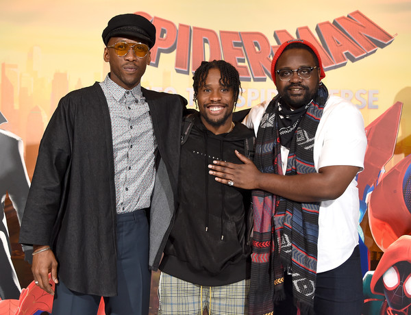 Photo Call For Sony Pictures Releasing's 'Spider-Man: Into The Spider-Verse' [spider-man: into the spider-verse,event,brian tyree henry,mahershala ali,shameik moore,photo call,los angeles,beverly hills,california,sony pictures releasing,photo call]