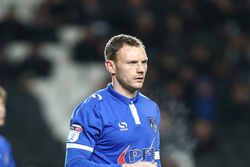 Brian Wilson Milton Keynes Dons v Oldham Athletic - Sky Bet League One
