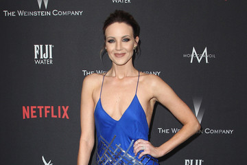 Brianne Davis The Weinstein Company and Netflix Golden Globe Party, Presented With FIJI Water, Grey Goose Vodka, Lindt Chocolate, and Moroccanoil - Red Carpet