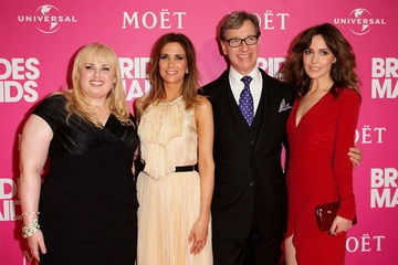 "Rose Byrne Paul Feig ""Bridesmaids"" Stars Host Celebrity Girls Night Out"