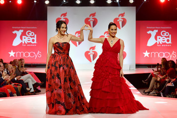 Brie Bella The American Heart Association's Go Red For Women Red Dress Collection 2019 Presented By Macy's - Runway