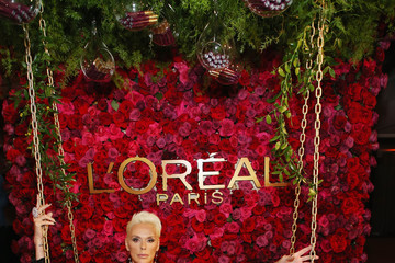 Brigitte Nielsen Entertainment Weekly And L'Oreal Paris Hosts The 2018 Pre-Emmy Party - Inside