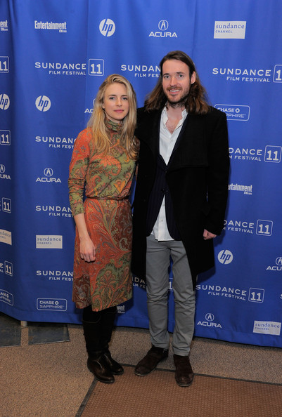 Brit Marling with cool, friendly, fun, Boyfriend Mike Cahill