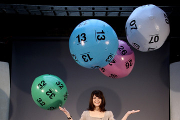 Arionel Vargas Britain Has Balls: National Lottery Photocall