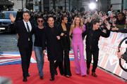 Anthony McPartlin, David Walliams, Simon Cowell, Amanda Holden, Alesha Dixon and Declan Donnelly attend the Britain's Got Talent 2020 photocall at the London Palladium on January 19, 2020 in London, England.