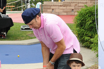Gable Nealon Britax And Baby Buggy Host Pre-Father's Day Mini Golf Open To Celebrate The Summer Launch Of The Britax Baby Carrier