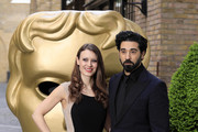 Esther Ruoff and Ray Panthaki attend the British Academy Television Craft Awards on April 23, 2017 in London, United Kingdom.