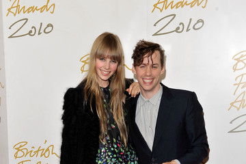 Edie Campbell British Fashion Awards - Winners Boards