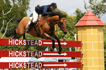 Calle British Jumping Derby Meeting