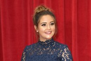 Jacqueline Jossa attends the British Soap Awards 2018 at Hackney Empire on June 2, 2018 in London, England.