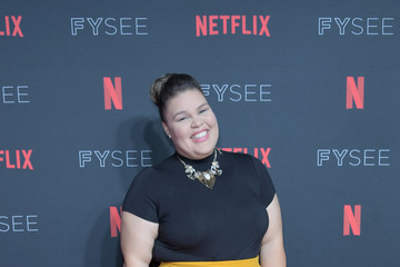 Britney Young Strong Black Lead Party At Netflix FYSEE