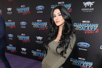 Brittany Furlan The World Premiere of Marvel Studios' 'Guardians of the Galaxy Vol. 2'