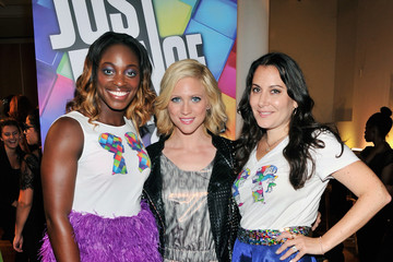 Brittany Snow NYFW: Backstage at Just Dance