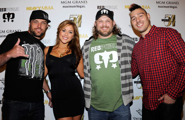 T.J. Lavin, Roy Nelson, Brittney Palmer And Dan Hardy Host Official Heavy MMA After-Party At Studio 54