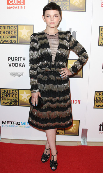 Actress Ginnifer Goodwin attends the Broadcast Television Journalists Association Second Annual Critics' Choice Awards at The Beverly Hilton Hotel on June 18, 2012 in Beverly Hills, California.