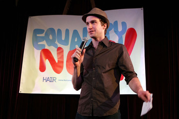 """Gavin Creel The Broadway Cast Of """"Hair"""" Holds A """"Be-In"""" Press Conference"""