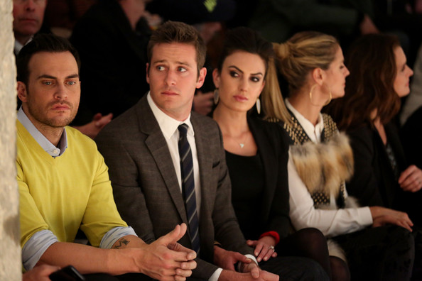 Kenneth Cole Collection - Front Row - Fall 2013 Mercedes-Benz Fashion Week