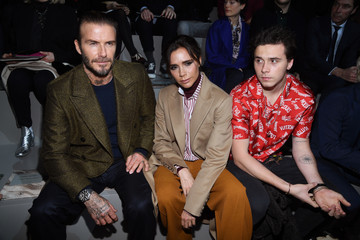 Brooklyn Beckham Louis Vuitton : Front Row - Paris Fashion Week - Menswear F/W 2018-2019