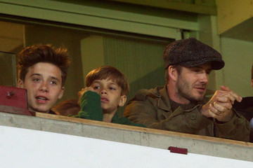 Brooklyn Beckham West Ham United v Manchester United - Premier League