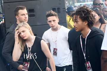 Brooklyn Beckham American Eagle Outfitters Celebrates The Budweiser Made In America Music Festival - Los Angeles, CA - Day 2