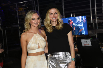 Brooklyn Decker 2016 iHeartCountry Festival at the Frank Erwin Center - Backstage