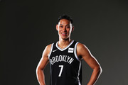 Jeremy Lin #7 of the Brooklyn Nets poses for a portrait during Media Day at HSS Training Center on September 25, 2017 in the Brooklyn Borough of New York.
