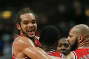 Joakim Noah Carlos Boozer Photos Photo