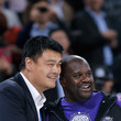 Shaquille O'Neal and Yao Ming Photos