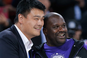 Shaquille O'Neal and Yao Ming Photos Photo