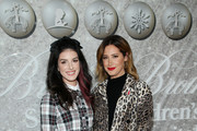Shenae Grimes-Beech and Ashley Tisdale attend Brooks Brothers Annual Holiday Celebration To Benefit St. Jude at The West Hollywood EDITION on December 07, 2019 in West Hollywood, California.