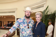 Chris Sullivan and Rachel Reichard at the Brooks Brothers Beverly Hills summer camp party benefitting St. Jude Children's Research Hospital at Brooks Brothers Rodeo on June 3, 2017 in Beverly Hills, California.
