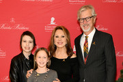Kennan, Charlie, Marlo Thomas, and Claudio Del Vecchio attend the Brooks Brothers And St Jude Children's Research Hospital Annual Holiday Celebration In New York City on December 18, 2018 in New York City.
