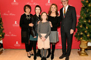 Emilie Antonetti, Kennan, Charlie, Marlo Thomas, and Claudio Del Vecchio attend the Brooks Brothers And St Jude Children's Research Hospital Annual Holiday Celebration In New York City on December 18, 2018 in New York City.