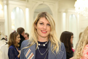 Actress Meredith Ostrom attends Book Launch Party for Plum Sykes' Party Girls Die In Pearls hosted by Brooks Brothers and Zac Posen at Brooks Brothers on May 9, 2017 in New York City.