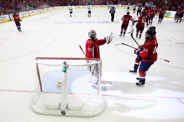 Brooks Orpik Braden Holtby 2018 NHL Stanley Cup Final - Game Four