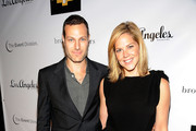 Prodcuer/director Michael Morris and Mary McCormack, actress arrive at the Brothers & Sisters Season 4 Premiere Party at Bar Delux on September 26, 2009 in Los Angeles, California.