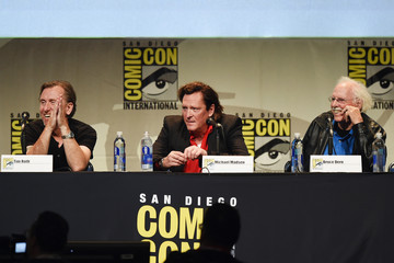 Bruce Dern Quentin Tarantino's 'The Hateful Eight' Panel at Comic-Con International 2015