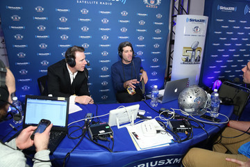 Bruce Murray SiriusXM at Super Bowl 50 Radio Row - Day 2