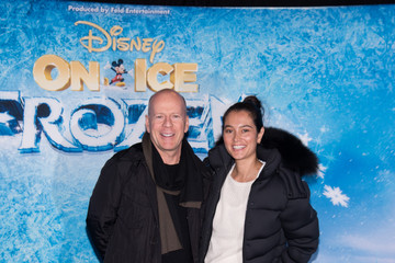 Bruce Willis Celebs at 'Disney on Ice Presents Frozen'