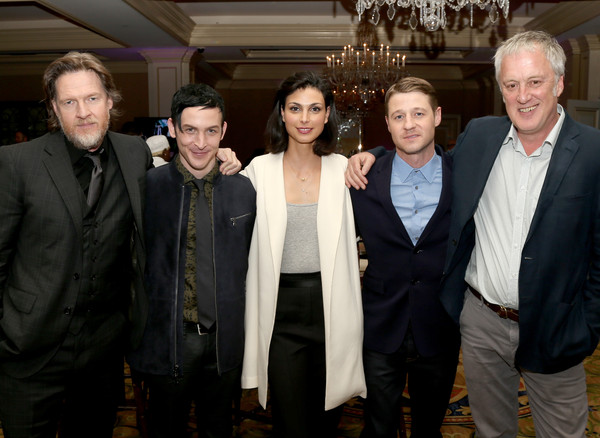 2015 Winter TCA Tour - Day 11 [winter tca,portion,l-r,social group,event,suit,formal wear,white-collar worker,taylor,bruno heller,actors,writer,donal logue,ben mckenzie,morena baccarin]