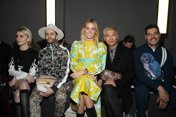 Valentino: Front Row - Paris Fashion Week - Menswear F/W 2019-2020