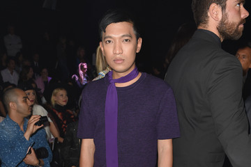Bryan Boy Front Row at Just Cavalli